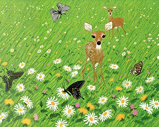 Bambi, Charley Harper