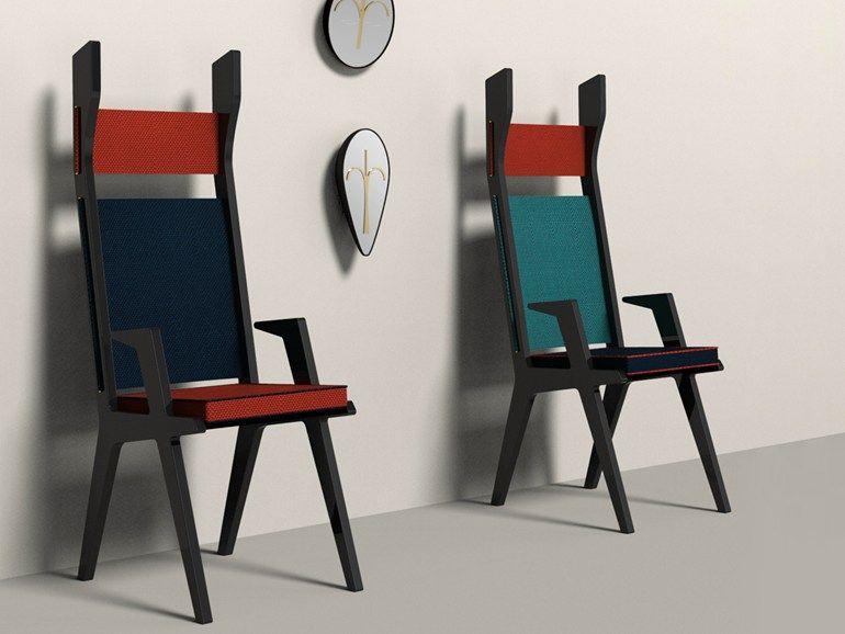 Sedie Schienale Alto Design : Colette chairs 椅子 sedia imbottita design e italia