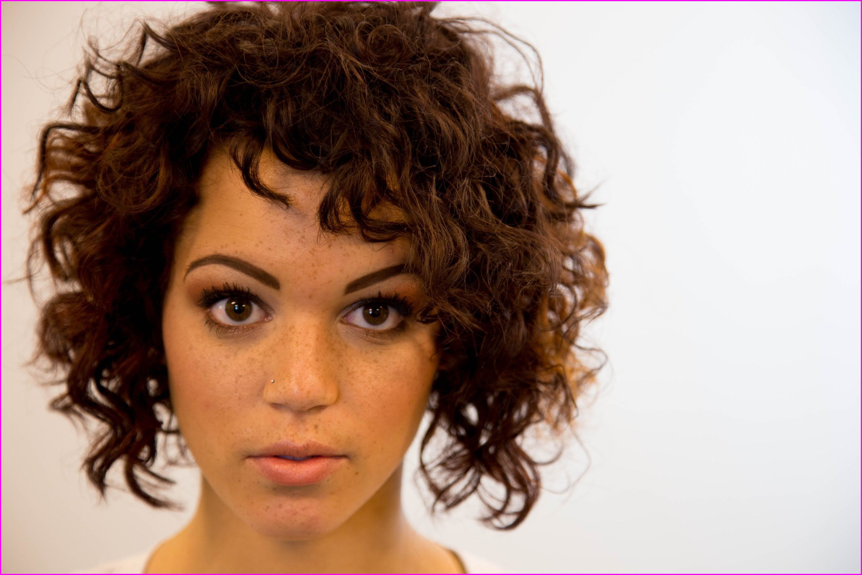 Best short haircuts for curly hair u round face wavycurly