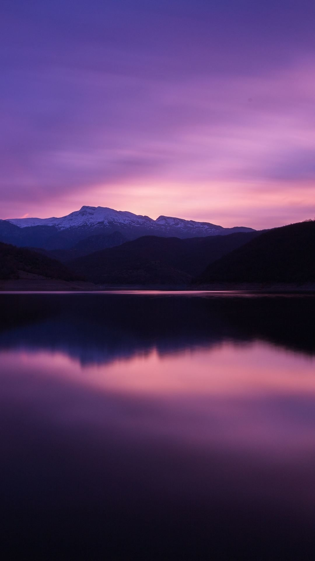 Mountain Lake Night Reflection 5k In 1080x1920 Resolution In