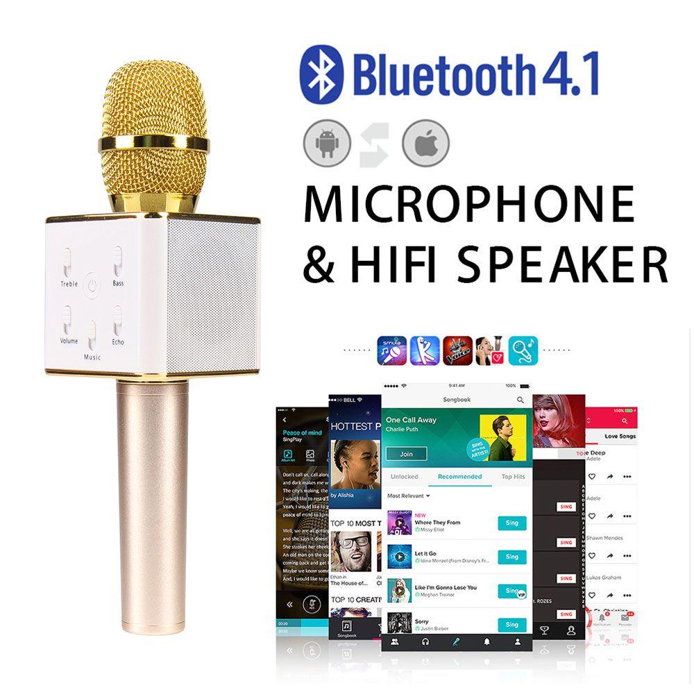 Q7 Pro Wireless Microphone Karaoke player Party KTV