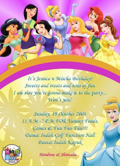 Birthday Invitations – Childrens Birthday Invitation