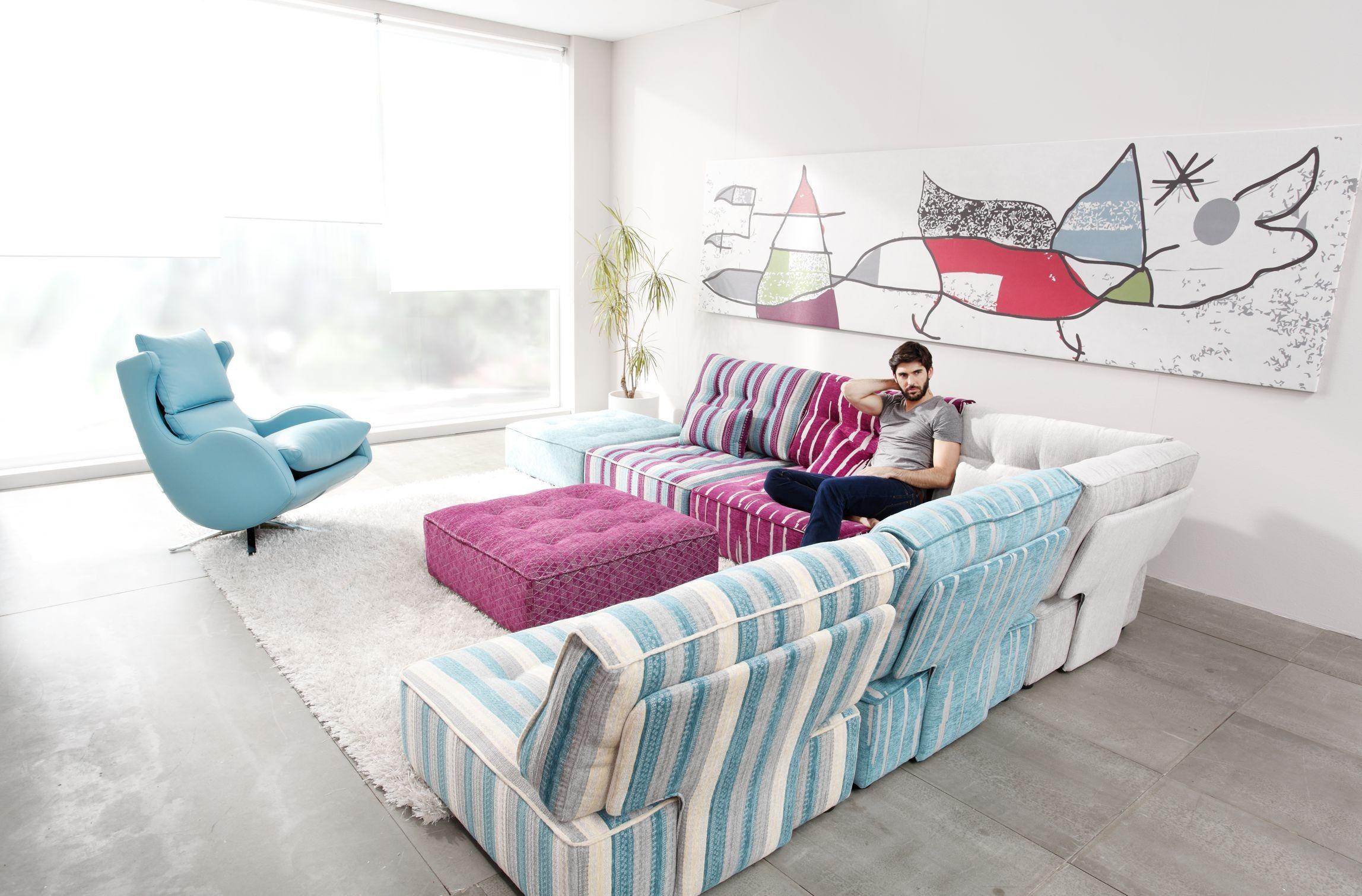 Arianne Modern Modular Sectional Sofa Fama Sofas Modular