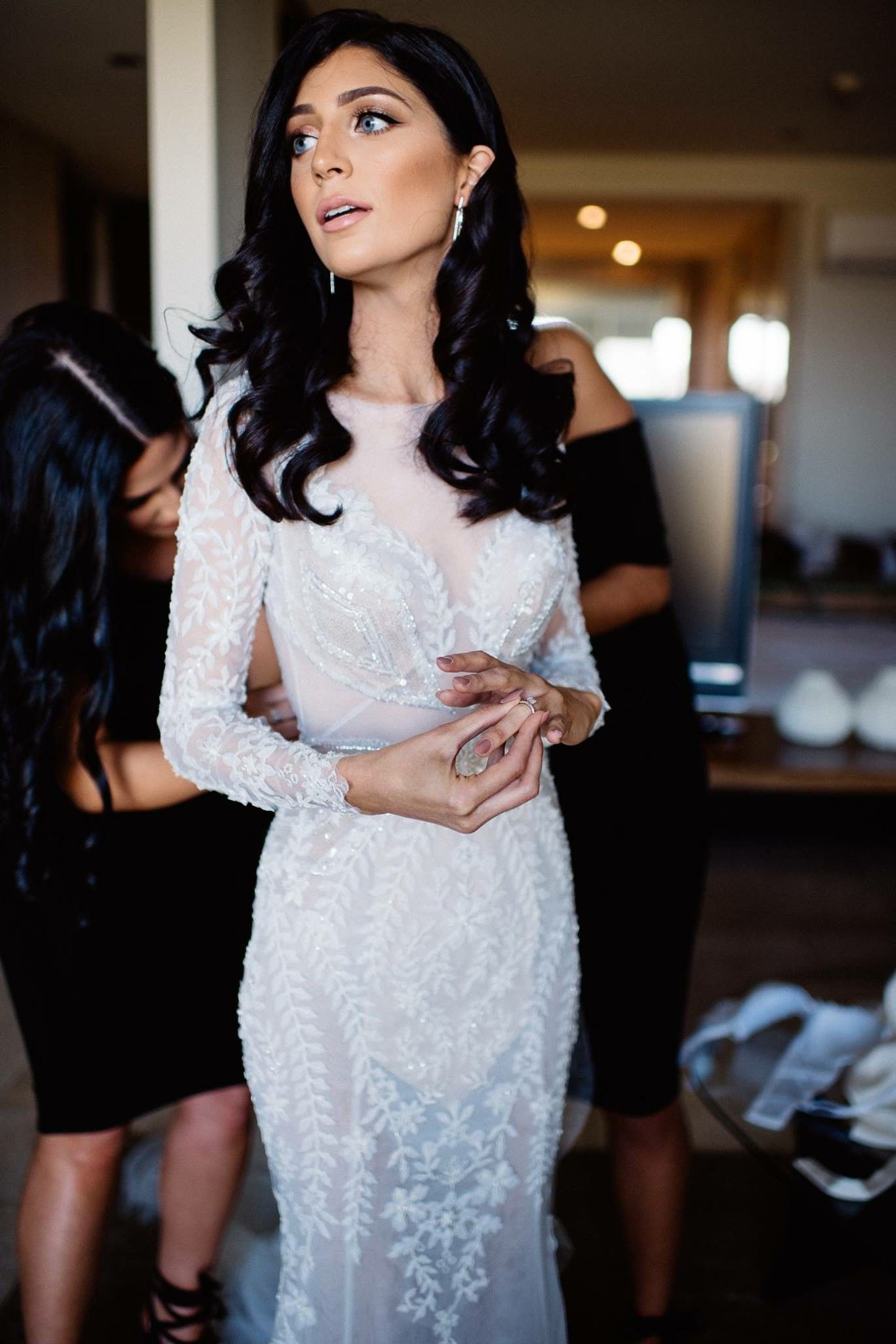 I am regretfully selling my beautiful wedding dress. Created for me ...