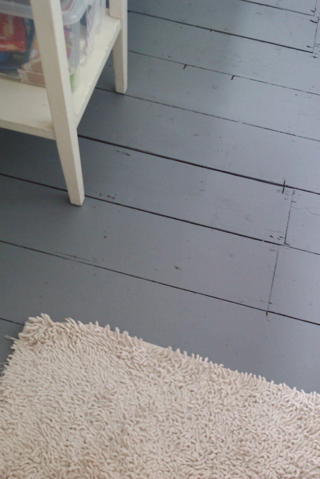 Paint Old Floor Boards W Ronseal Diamond Hard Floor Paint