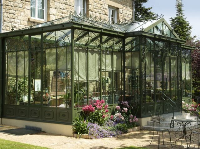 veranda jardin d hiver longueville outdoor pinterest verandas conservatories and porch. Black Bedroom Furniture Sets. Home Design Ideas