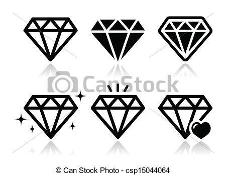 Can Stock Photo Csp15044064 Jpg 450 348 Como Dibujar Un Diamante Diamante Dibujo Tatuajes De Diamantes