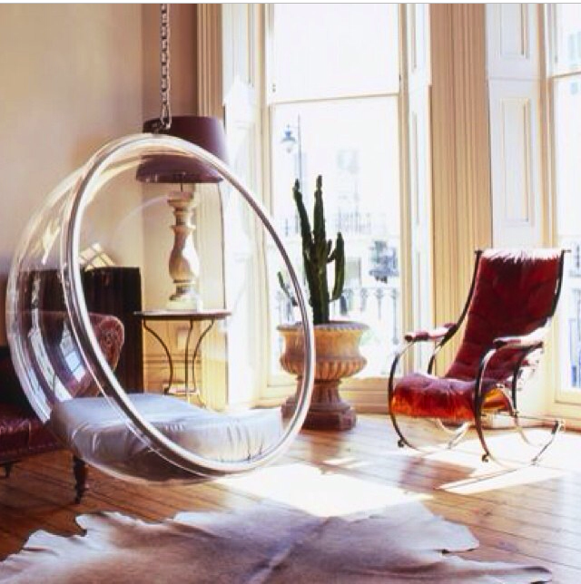 Eero Aarnio chair | Interiors | Pinterest | Interiors