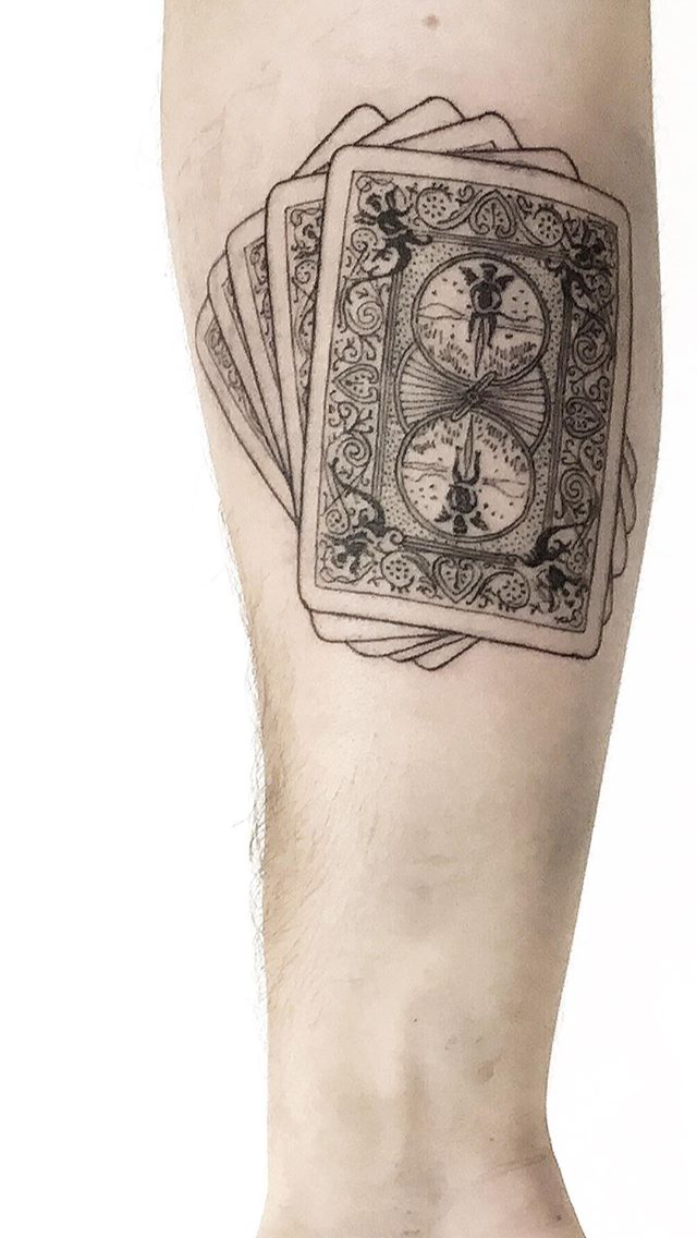 Tatuaje Cartas Tatuaje Cartas Tatuajes Tatuaje Vida