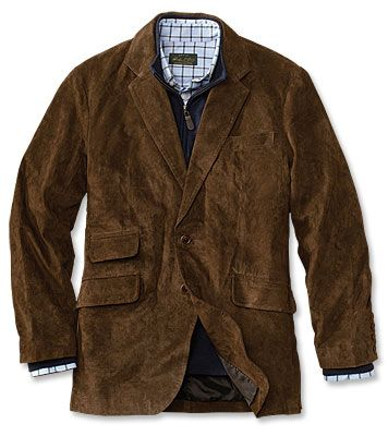 Just found this Mens Hacking Jacket - CFO Collection Suede Hacking ...