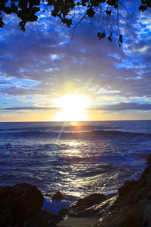 beautiful setting sun...♥