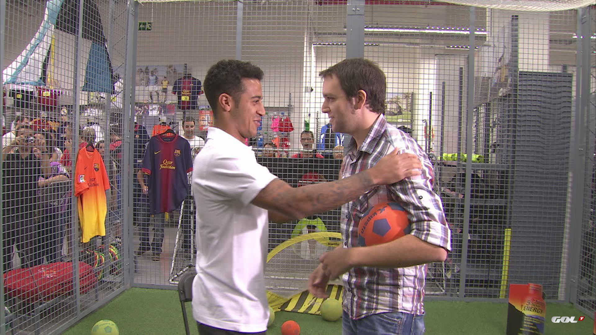 Thiago Alcántara, a Barça footballplayer, talks with our reporter, Rodrigo Fáez. Coming soon in La Liga World.