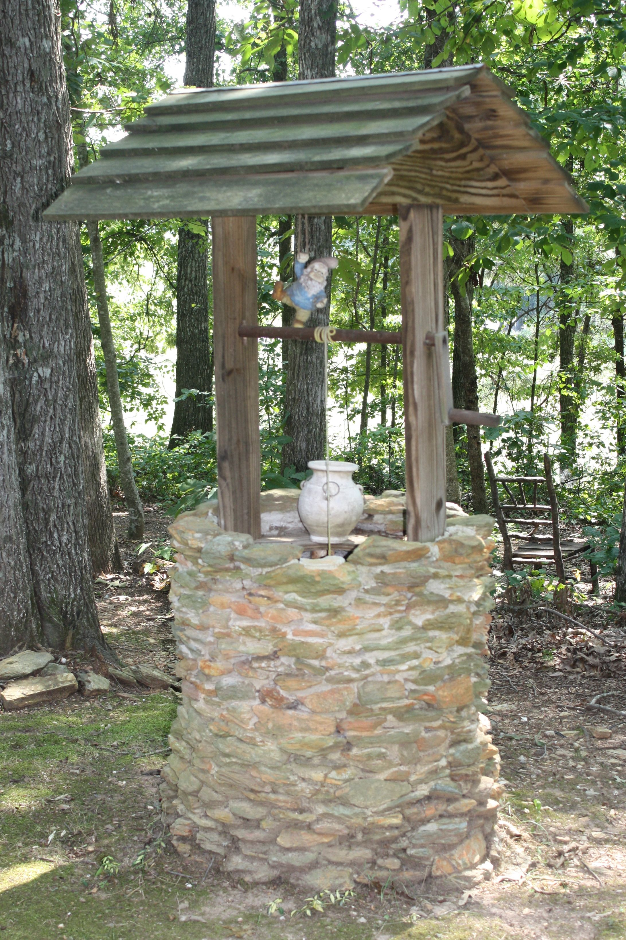 Wishing Well Wishing Well Garden Country Cottage Garden Water Well