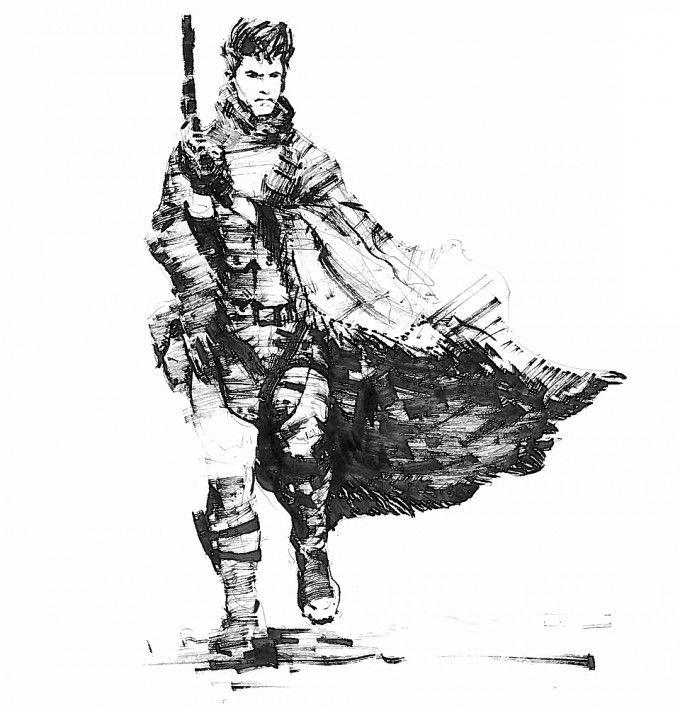 Metal Gear Online Concept Art By A J Trahan Concept Art World Metal Gear Online Metal Gear Concept Art World