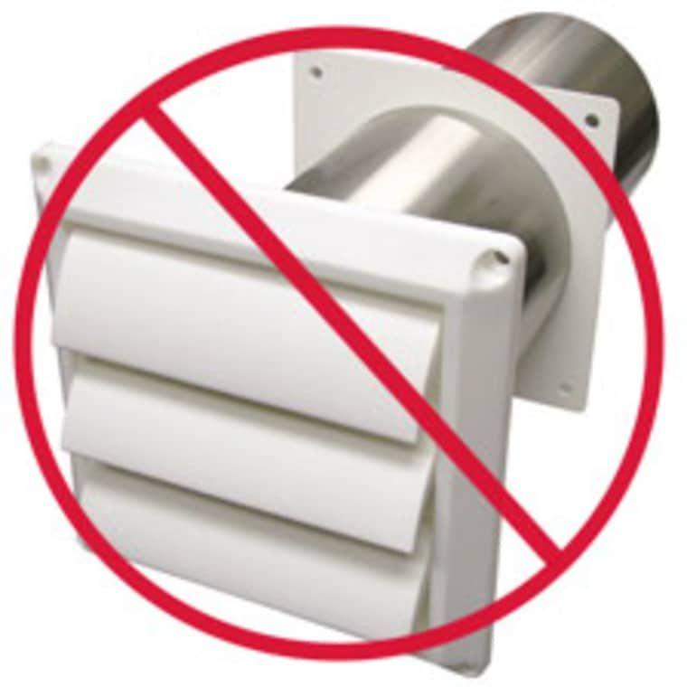 Quick Fix Tip Seal Your Dryer Exhaust Vents Dryer Exhaust Exhaust Vent Dryer Exhaust Vent