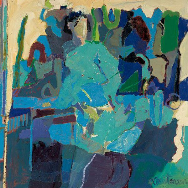 Linda Christensen » Gallery 2013, Convergence 40x40