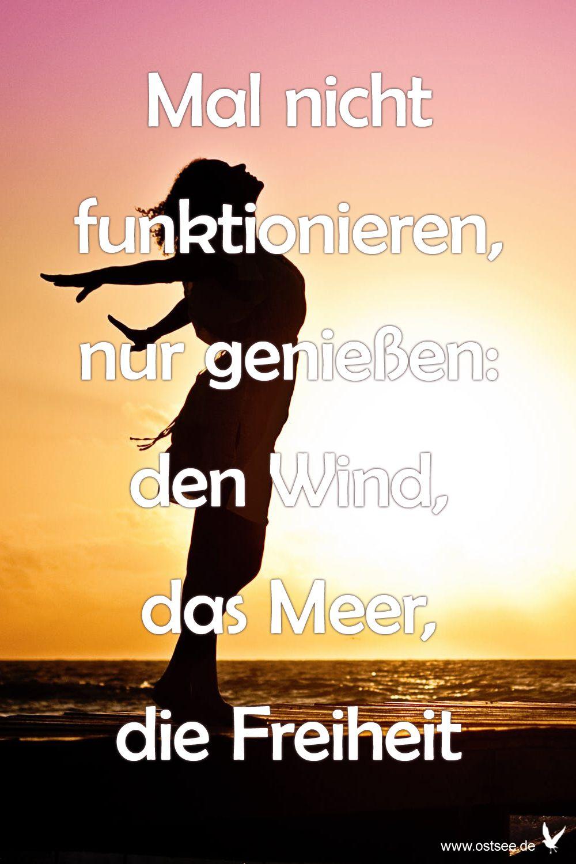 Mal Nicht Funktionieren Nur Genießen Den Wind Das Meer