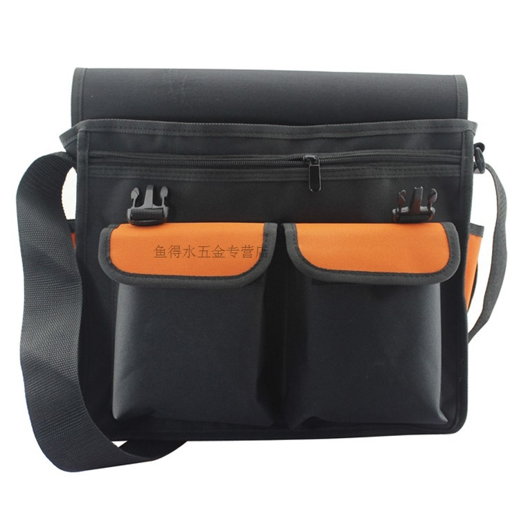 32.27$  Watch now - http://ali3zl.shopchina.info/go.php?t=2011931799 - Free shipping multifunction pockets Kit telecommunications electrician thicken Oxford cloth bag backpack Tool bag 61024  #buychinaproducts