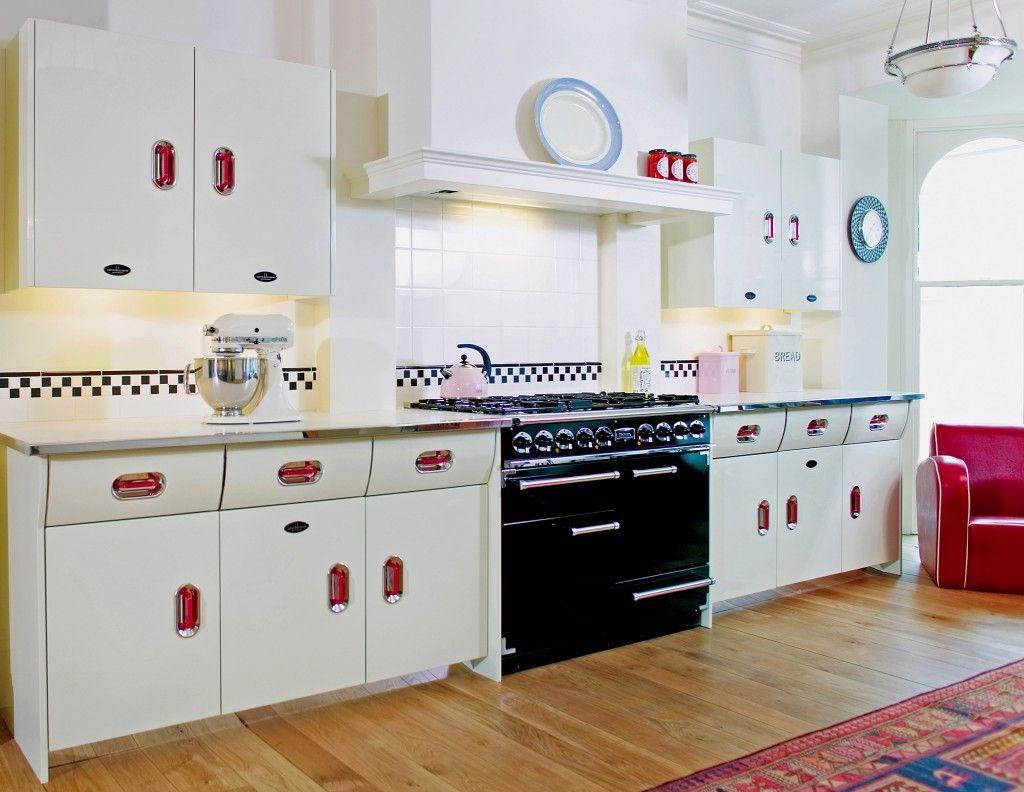 John Lewis of Hungerford English Rose 1950s vintage inspired kitchen ...