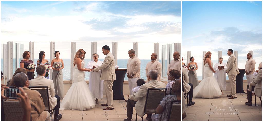 Luxurious Outdoor Wedding At Oceanaire Resort Hotel