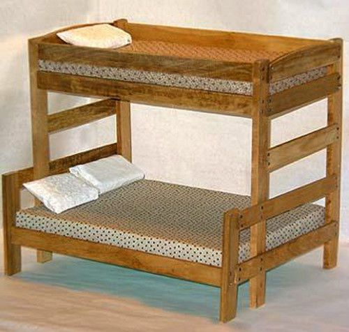 Twin Over Full Bunk Bed Woodworking Furniture Plans Save