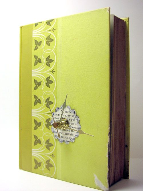 cool ideas for recycling books