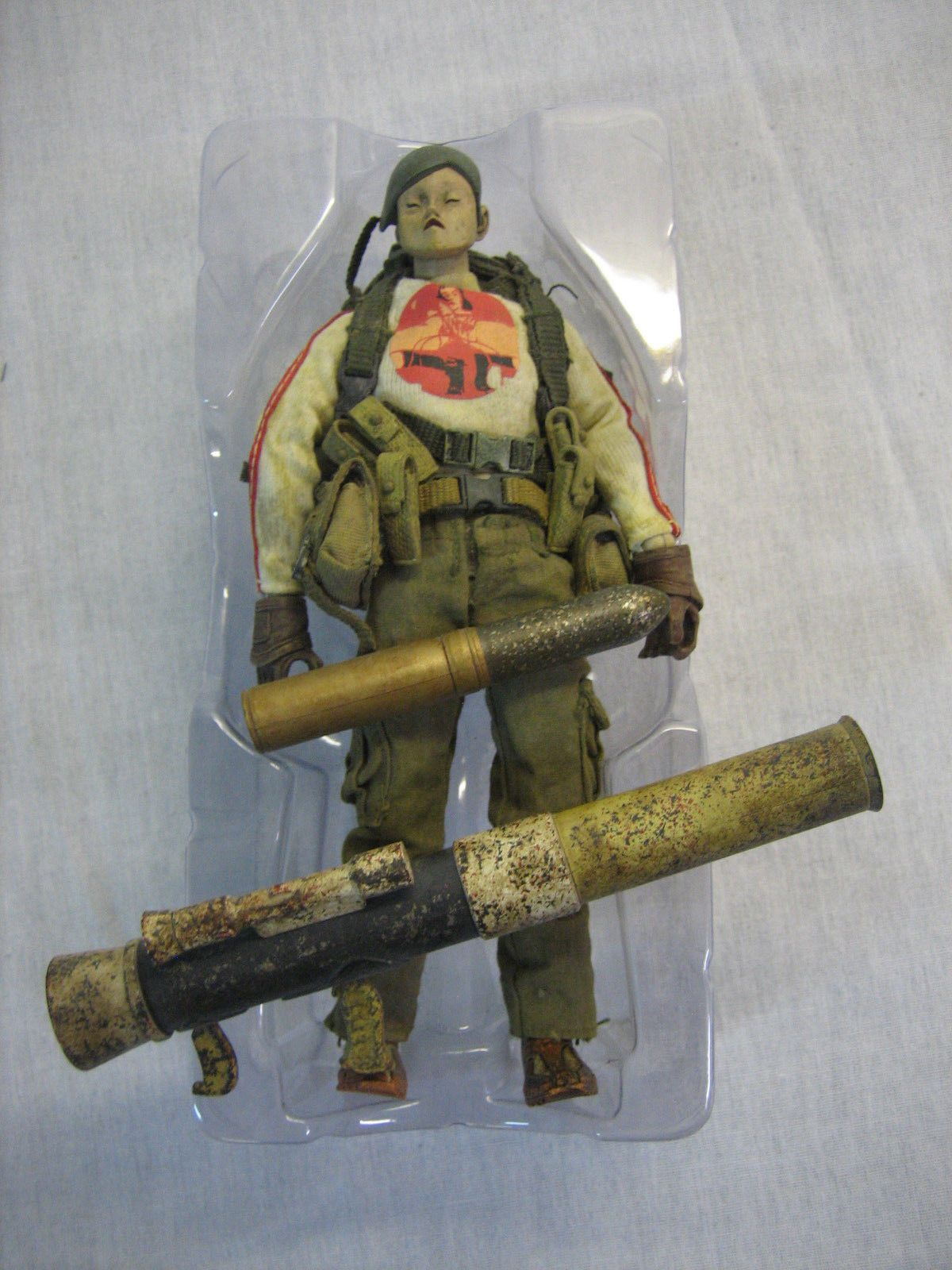 "6/"" 1//12 3A THREEA Action Portable Heavy TK Kato Figure Ashley Wood"