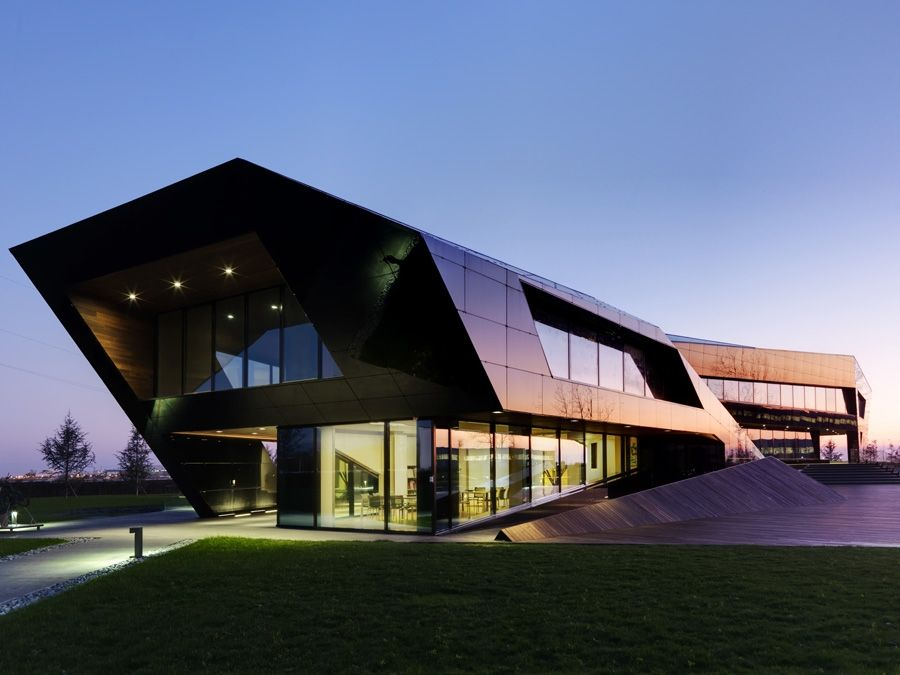 Vidre Negre Offices Duilio Damilano Mimarlik Architecture - Horizontal-space-by-duilio-damilano
