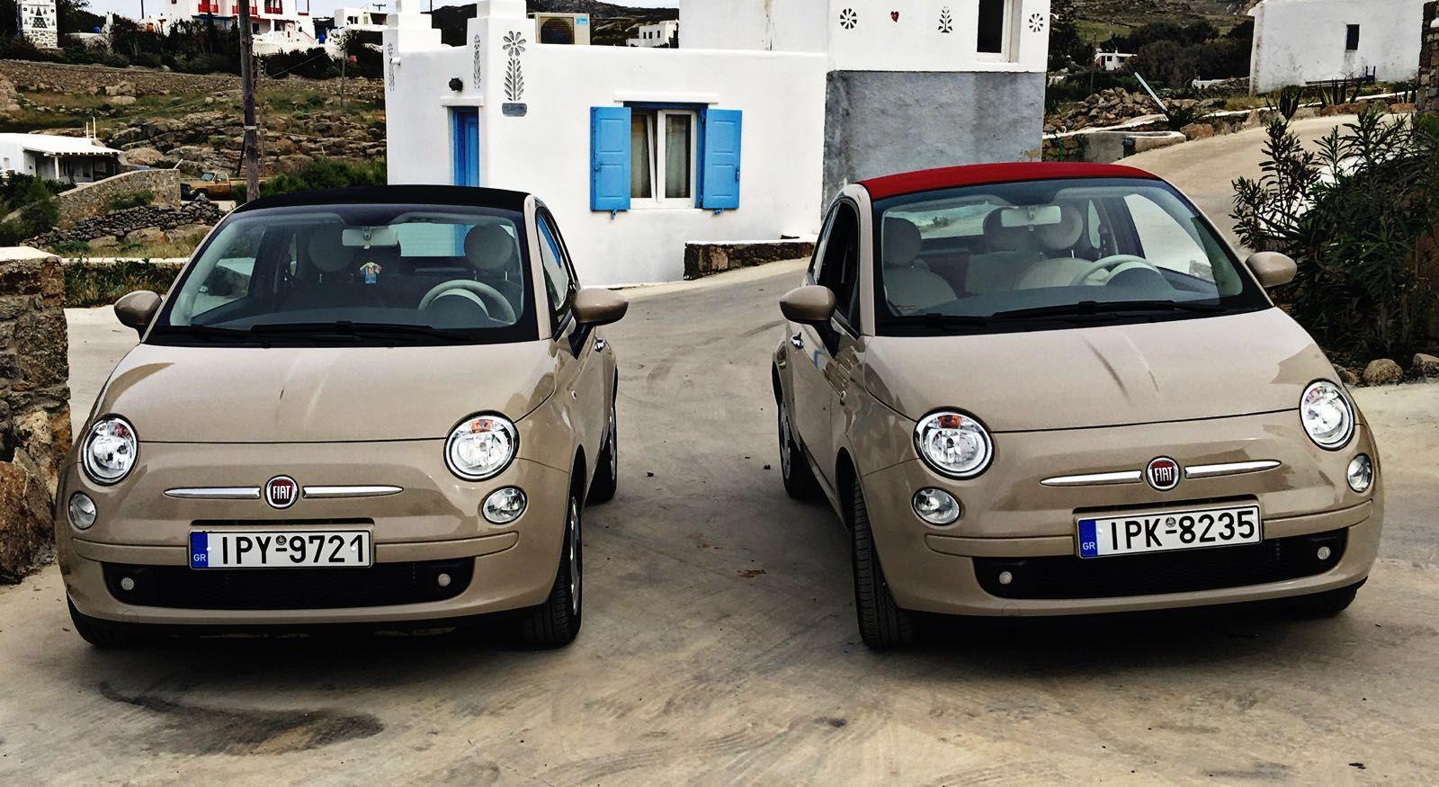 Mykonos Rent A Car Cabrio