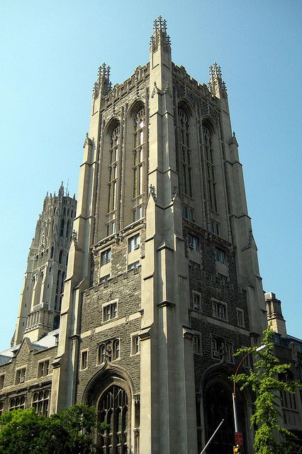 Nyc Morningside Heights Union Theological Seminary And Riverside Church New York City Nyc Place Of Worship