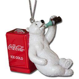 Coca-Cola Polar Bear Ornament