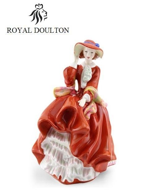 Royal Doulton Figurine Pretty Lady TOP O' THE HILL HN4778 NEW