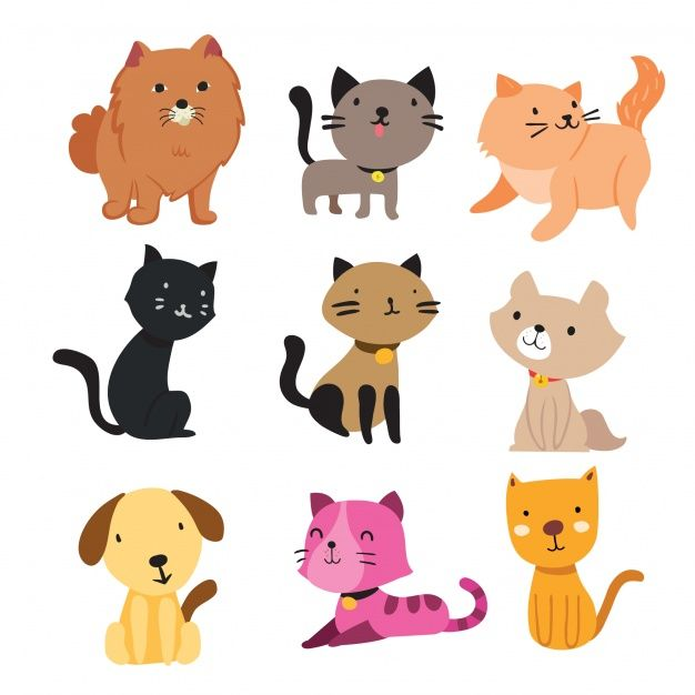Download Cats And Dogs Collection For Free In 2020 Cat Character