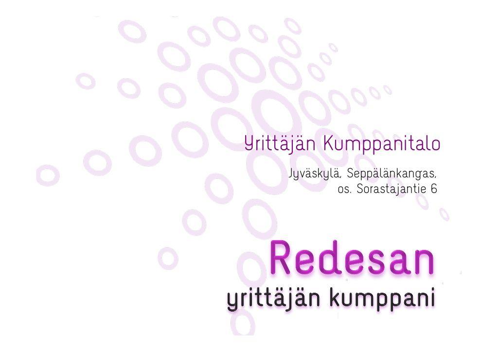 Päivitetty talon esittely  yrittjn-kumppanitalon-esittely by Redesan - yrittäjän kumppani via Slideshare