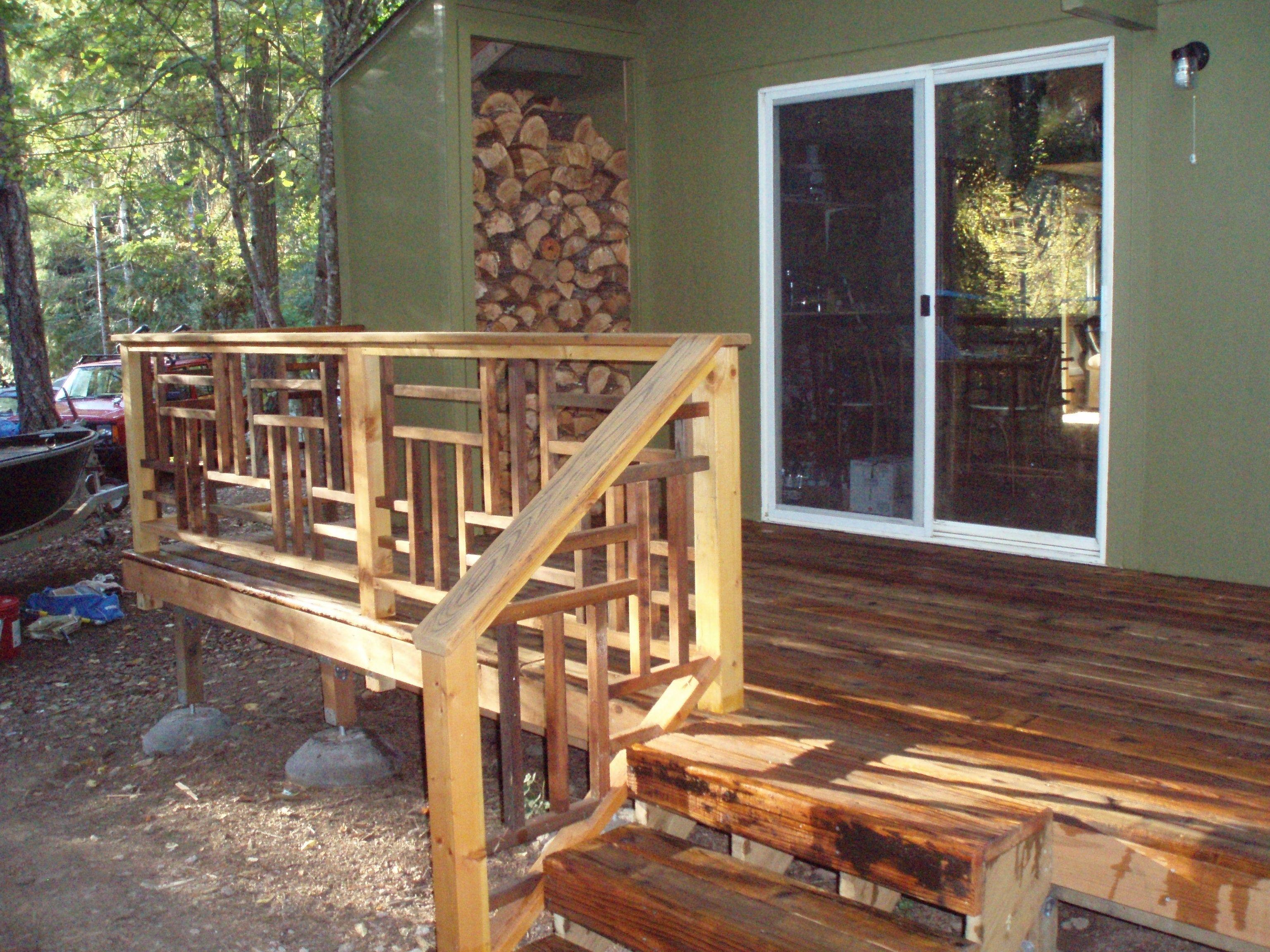 Rail Designs Porch Railing Diy Bench Outdoor Wood Railing