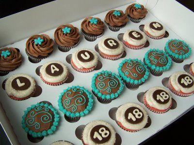18th Birthday Cupcakes