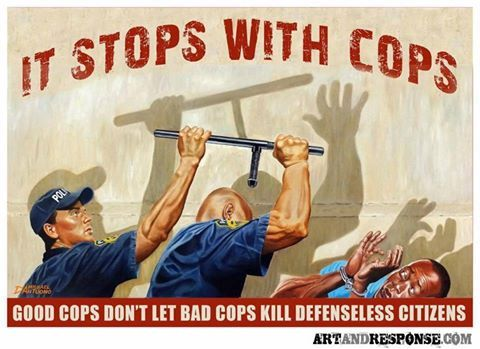 It stops with cops