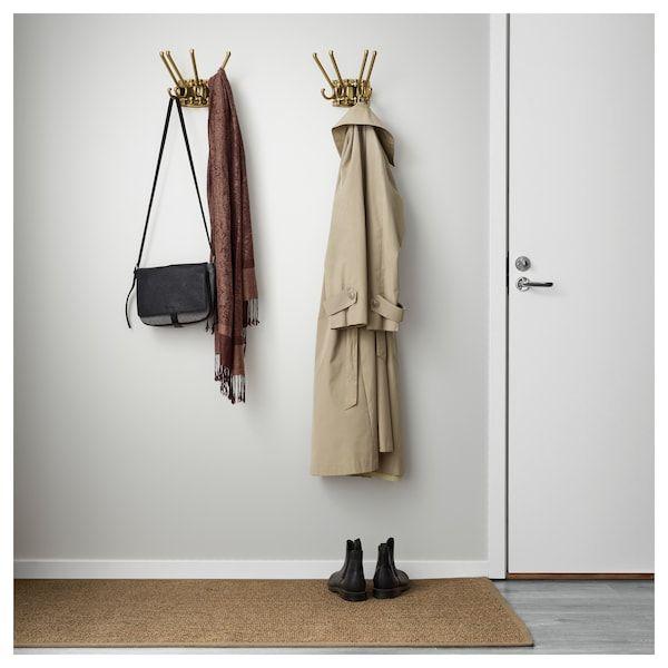 Storage,Quality Rack Ikea TJUSIG Hat Clothes Tie Coat Jacket Rack,Wall Hanger
