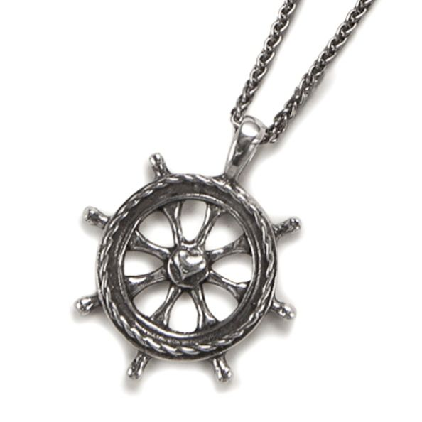 Helm Pendant on Sailor Rope Chain