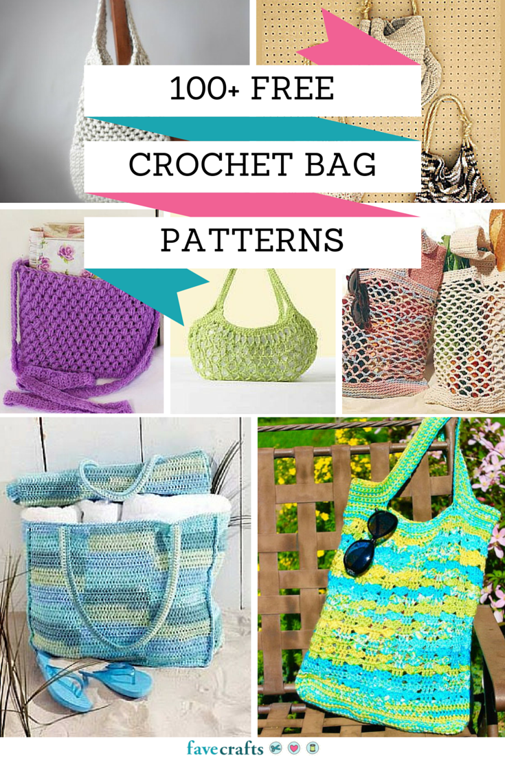 100+ Free Crochet Bag Patterns - Check out our full collection of ...