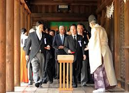 Japan ministers visit war shrine again - News - Bubblews