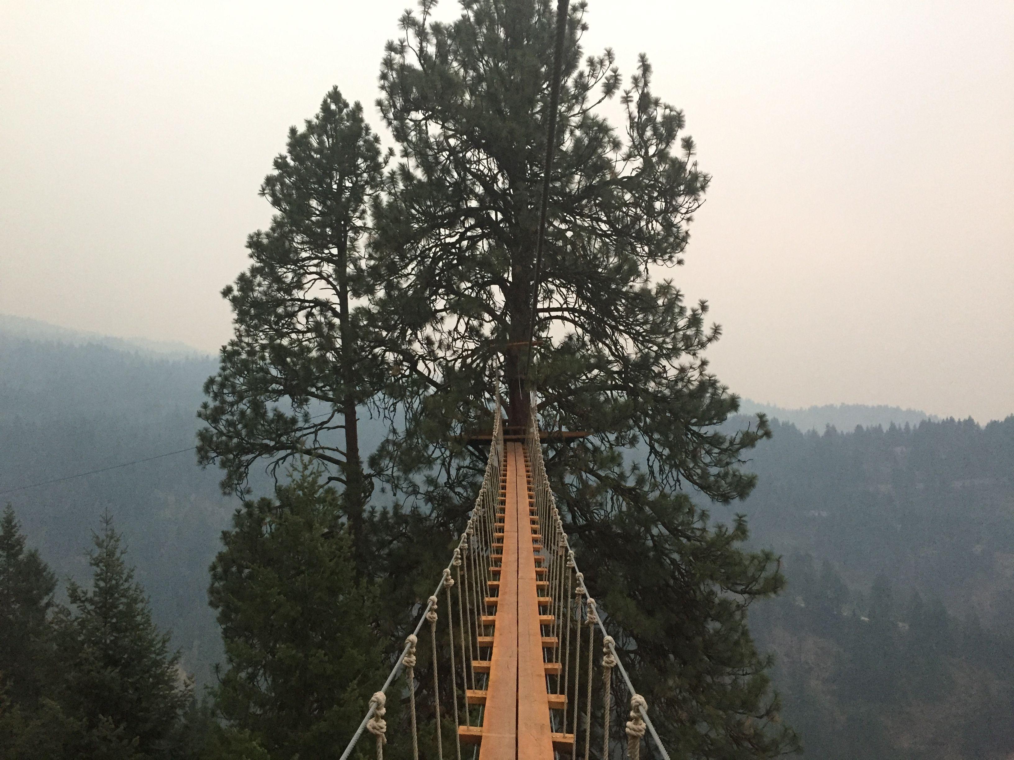 Zip Lining In Coeur D Alene Idaho