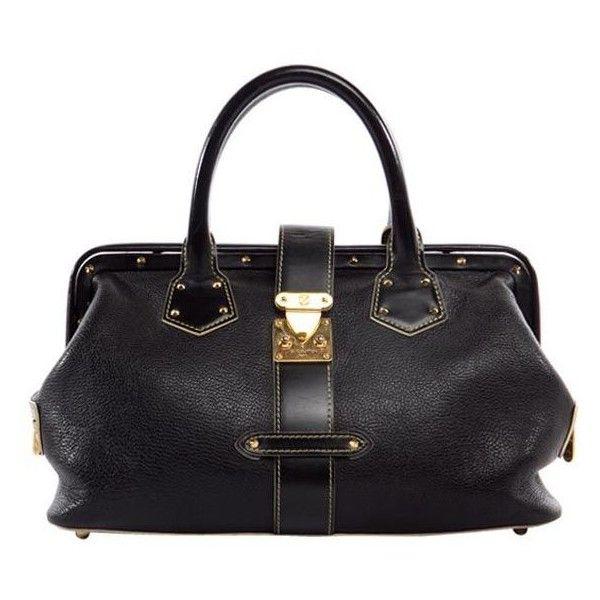 Louis Vuitton - LOUIS VUITTON Black Suhali L'Ingenieux Purse Bag found on Polyvore