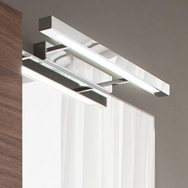 SOLID A Classical Wall Light With Squared Lines, With A Satin Finish And A  Wide Spreading And Pleasing Light