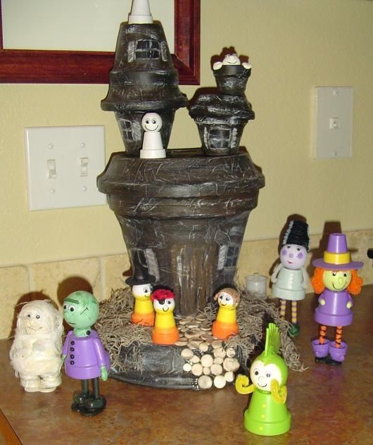 Made From Clay Pots Crafts: ALL MADE FROM CLY POTS
