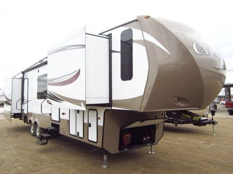 Haylettrv Com 2016 Cypress 38cfl Front Living Fifth Wheel By