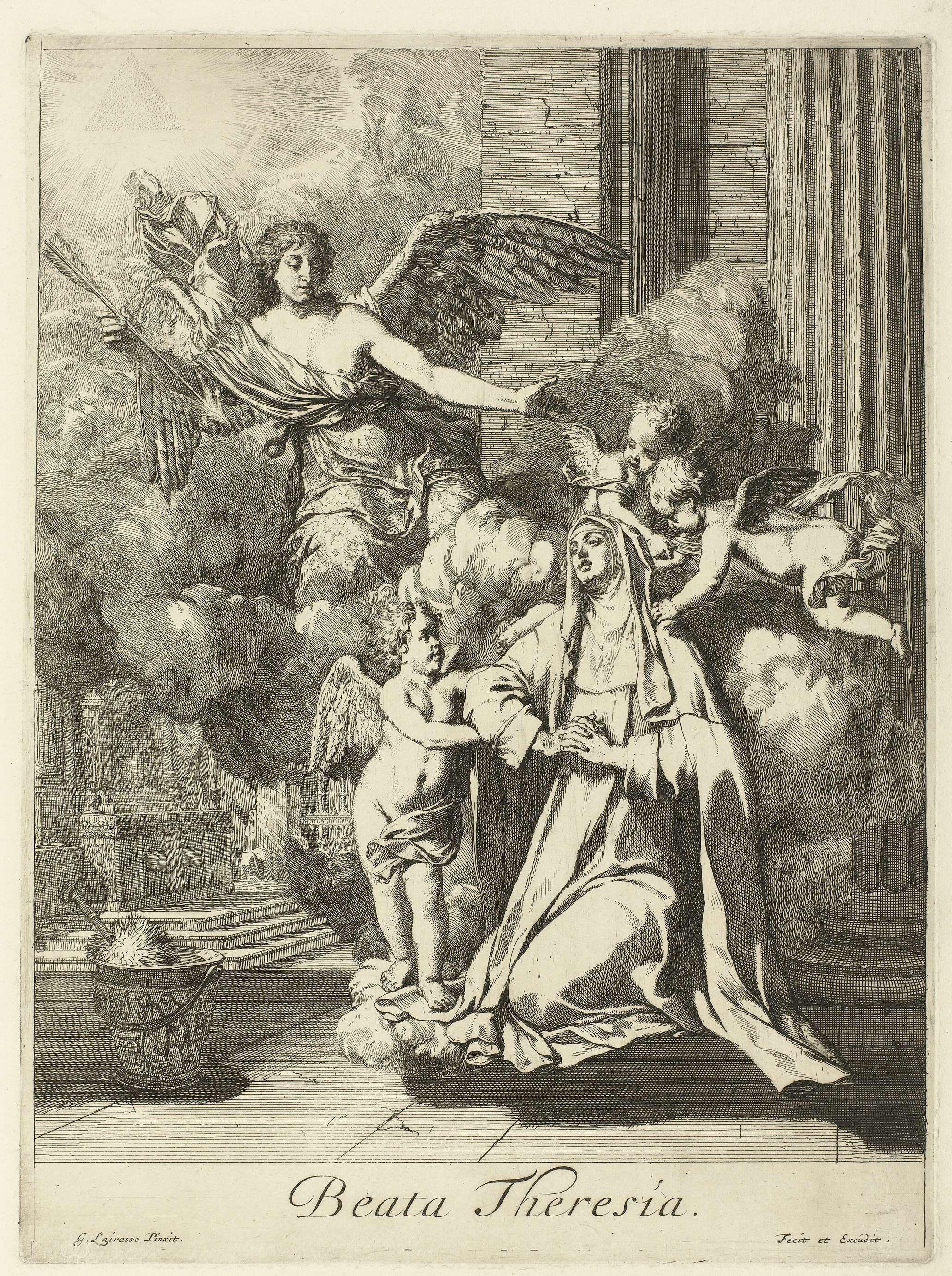 H Theresia Van ávila Gerard De Lairesse 1675 Ca