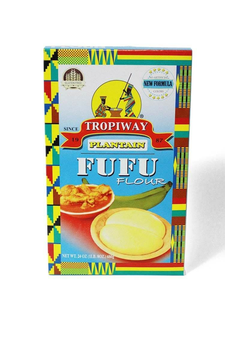 Fufu for any kitchen Fufu is the sticky dough that accompanies many West African soups and sauces. Usually fufu is served in a large ball or loaf and bite size pieces are torn off and dipped in the ma