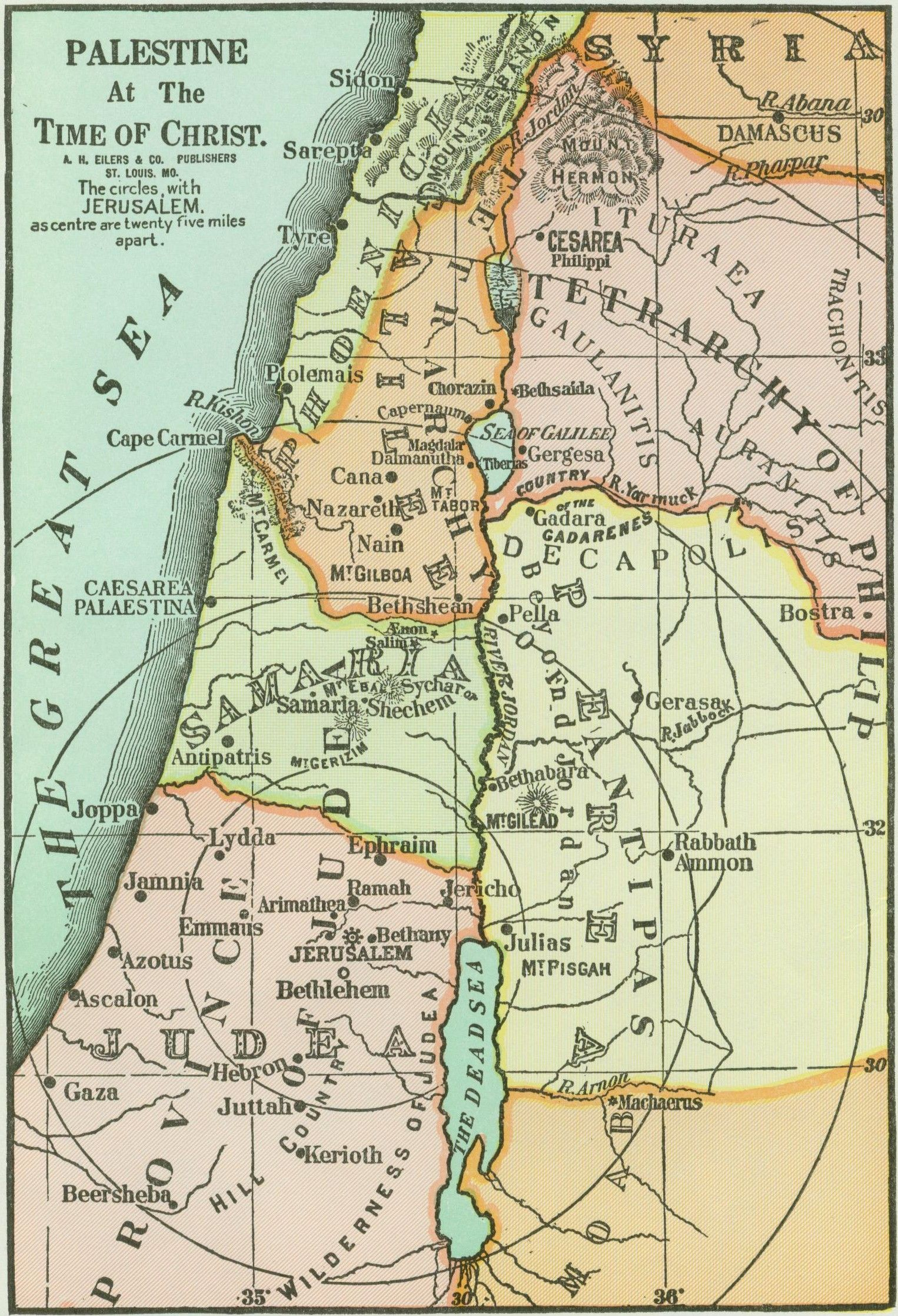 Map+of+Palestine+in+the+Time+of+Jesus | Palestine at the ... on at the temple of jerusalem in jesus time, map of wells in aguanga, large map of israel in jesus' time, map of nazareth in galilee, samaritans in jesus time, sea of galilee map jesus' time, houses in bethlehem in jesus time, map of jesus journey, capernaum in jesus time, map of jerusalem jesus time, map during jesus' time, palestine in christ's time, israel maps from jesus time, map of jesus travels, bethphage in jesus time, life during jesus' time, map holy land jesus' time, judea in jesus' time, map of cana in galilee, nazareth in jesus time,