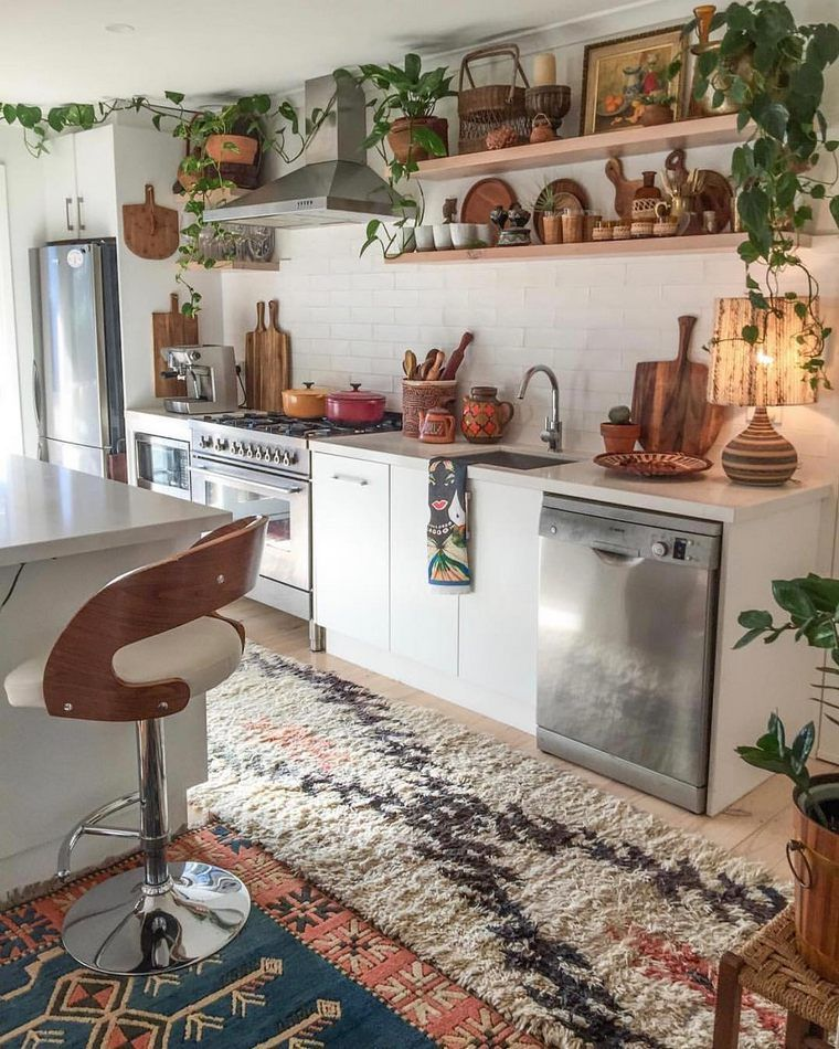 Top Ideas to Get Boho Style Kitchen